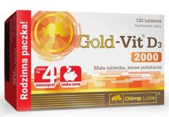 OLIMP Gold-Vit D3 2000 x 120 tabletek