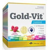 OLIMP Gold-Vit Junior smak malinowy x 10 saszetek