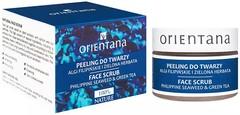 ORIENTANA Naturalny żelowy peeling do twarzy Algi Filipińskie i Zielona herbata 50g