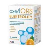 Oxeo ORS Elektrolity x 10 saszetek