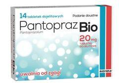 PANTOPRAZ BIO 20mg x 14 tabletek