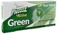 Plusssz Active Green x 12 tabletek do ssania