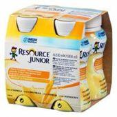 Resource Junior płyn smak waniliowy 200ml x 4 sztuki