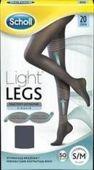 SCHOLL Light Legs Rajstopy uciskowe 20 DEN rozmiar S/M czarne x 1 sztuka