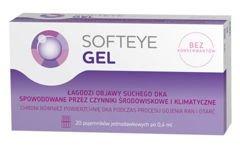 Softeye Gel żel do oczu x 20 pojemników 0,4ml