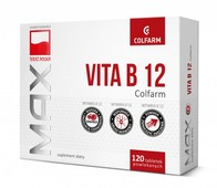VITAMINUM B12 Colfarm x 120 tabletek