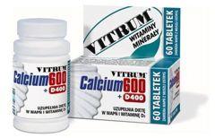 VITRUM Calcium 600 + D400 x 60 tabl.