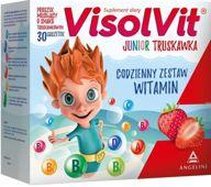 Visolvit Junior smak truskawkowy x 30 saszetek