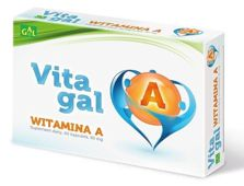 Vitagal Witamina A x 60 kapsułek