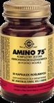 SOLGAR Amino 75 kompletny zestaw aminokwasów egzogennych x 30 kapsułek