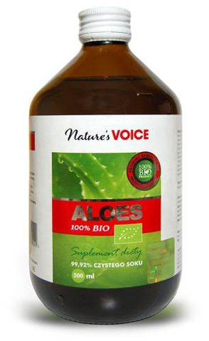 ALOES 100% BIO płyn 500ml