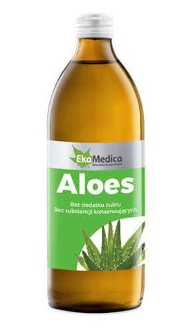 ALOES Sok z Aloesu bez konserwantów 500ml