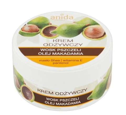 ANIDA krem odżywczy wosk pszczeli i olej makadamia 125ml