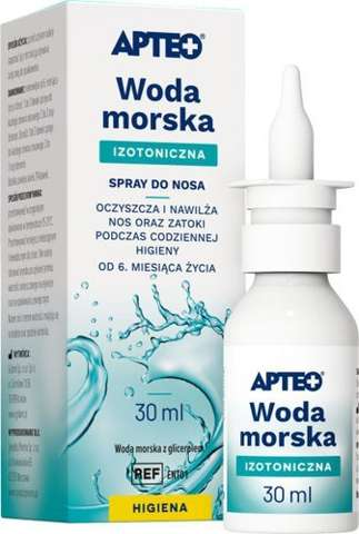 APTEO CARE Woda morska spray 30ml