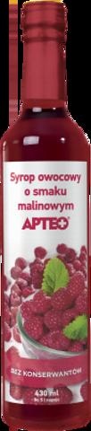 APTEO Syrop o smaku malinowym 430ml