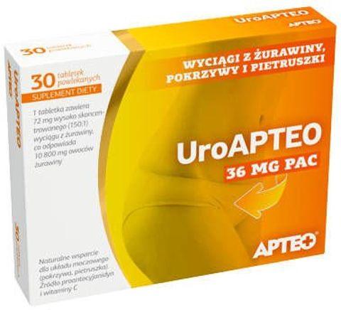 APTEO UroAPTEO x 30 tabletek