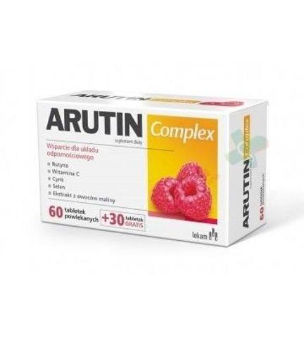 ARUTIN COMPLEX x 60 tabletek + 30 tabletek Gratis (90 tabetek)