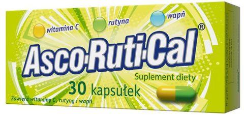 ASCORUTICAL x 30 kapsułek