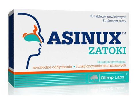 ASINUX Zatoki x 30 tabletek