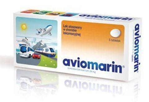 AVIOMARIN 0,05 x 5 tabletek