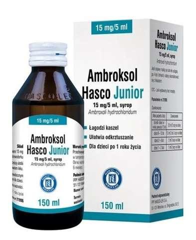 Ambroksol Hasco Junior 15mg/5ml 150ml