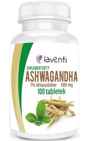 Ashwagandha 500mg x 100 tabletek