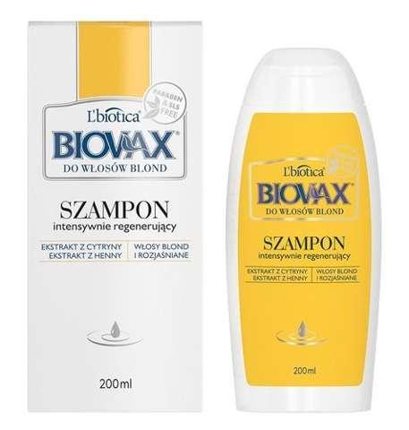 BIOVAX Szampon do włosów blond 200ml