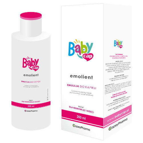 BabyCap Emolient emulsja do kąpieli 200ml
