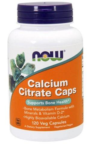 Calcium Citrate x 120 kapsułek Veg