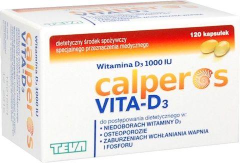 Calperos Vita-D3 x 120 kapsułek