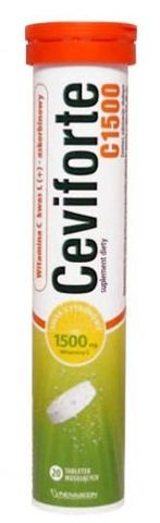 Ceviforte C 1500 x 20 tabletek musujących