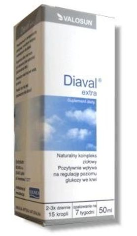 DIAVAL Extra krople 50ml