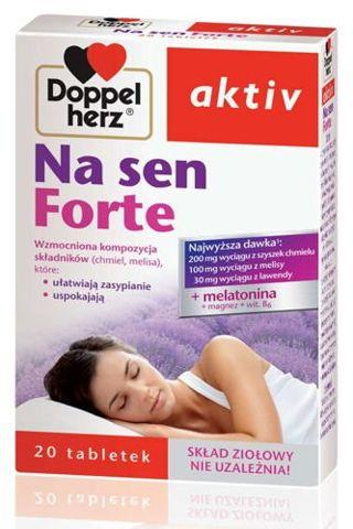 DOPPELHERZ Aktiv Na sen Forte x 20 tabletek