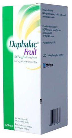 DUPHALAC FRUIT syrop 500ml