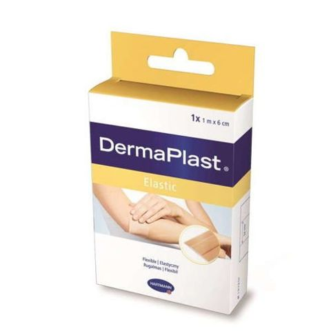 DermaPlast Elastic 1m x 6cm x 1rolka