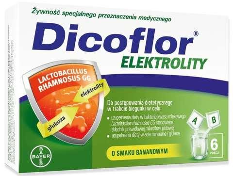 Dicoflor Elektrolity x 12 saszetek (6 porcji)