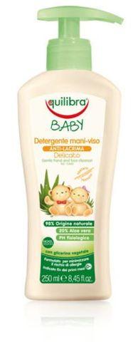 EQUILIBRA Baby delikatne mydełko do rąk i twarzy 250ml