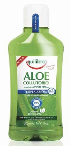 EQUILIBRA Triple Action Aloesowy płyn do płukania jamy ustnej 500ml