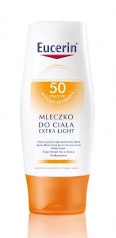 EUCERIN SUN Mleczko do ciała SPF50 Extra light 150ml
