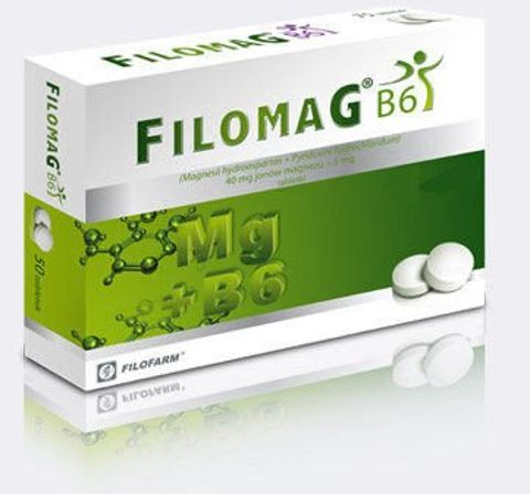 FILOMAG B6 x 75 tabletek