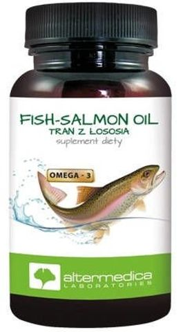 FISH-SALMON OIL x 60 kapsułek