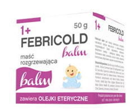 Febricold balm 1+ maść rozgrzewająca 50g