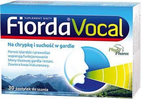 Fiorda Vocal x 30 pastylek do ssania