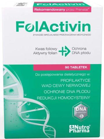FolActivin x 90 tabletek