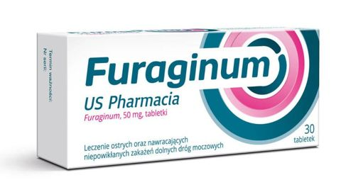 Furaginum US Pharmacia 50mg x 30 tabletek