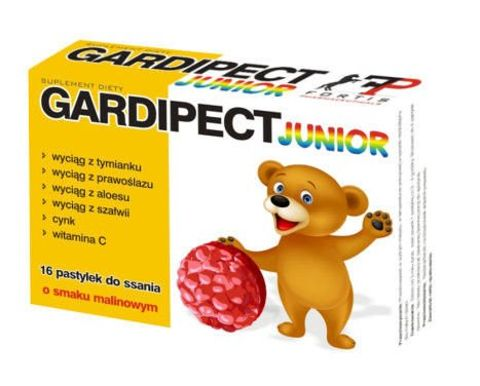 GARDIPECT Junior x 16 pastylek