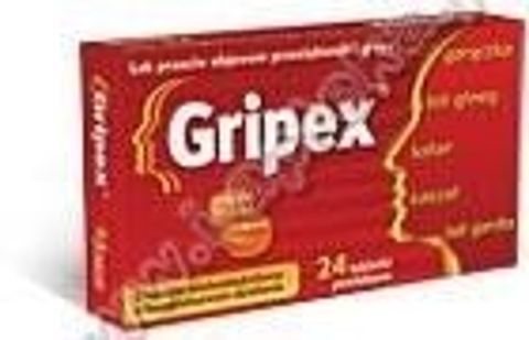 GRIPEX x 24 tabletki