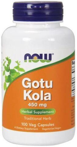 Gotu Kola 450mg x 100 kapsułek Veg