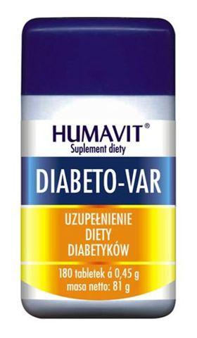 HUMAVIT DIABETO-VAR x 180 tabletek