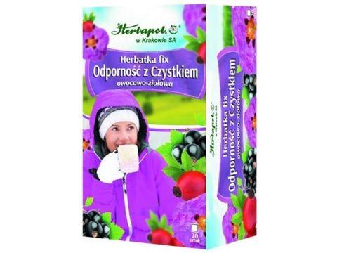 Herbatka Odporność z czystkiem fix 2g x 20 saszetek
